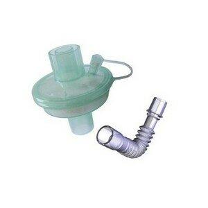 Filtro HMEF Barreira Bacteriano Viral Eletrostático (Estéril com Traqueinha) Adulto