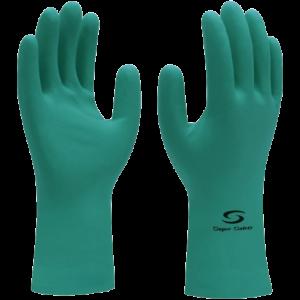 Luva de Segurança – mod. S. Nitro Green – COM FORRO | Unidade por R$ 8,72