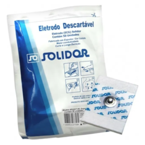 Eletrodo Descartável Espuma Adulto Pacote com 50un | Solidor