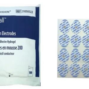Eletrodo Descartável Para ECG Meditrace 200 Adulto Kendall – Pacote com 100un