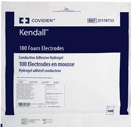 Eletrodo Descartável Para ECG Meditrace 100 Pediátrico Kendall – Pacote com 100un